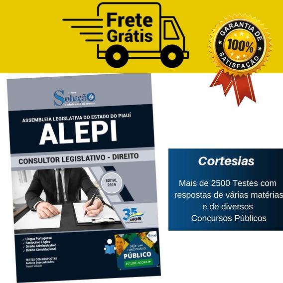 Apostila Alepi Piauí Consultor Legislativo - Direito