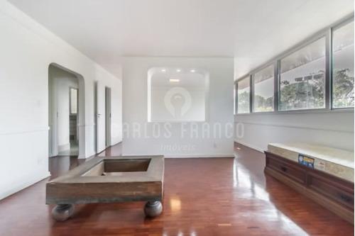 4 Dormitórios (sendo 2 Suítes) - 1 Vaga - Jardim Paulista - Cf38725