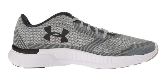 Tenis Under Armour Unisex Gris Charged 1285494031