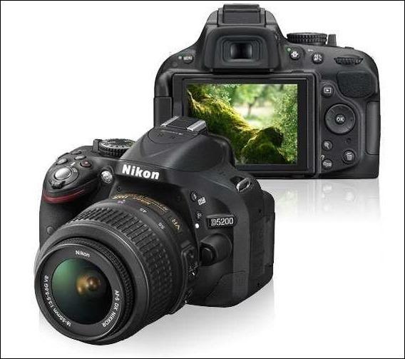 Nikon D5200 Com Lente Af-s Nikkor 18-105mm + 32gb + Carr