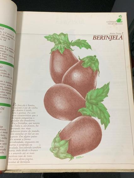 Livro Capa Dura Cozinha Vegetariana Saudavel Raro Antigo