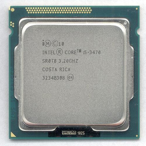 Imagem 1 de 4 de Kit Processador I5 3470+placa Mãe Hb75+8gbddr3 Limpa Estoque