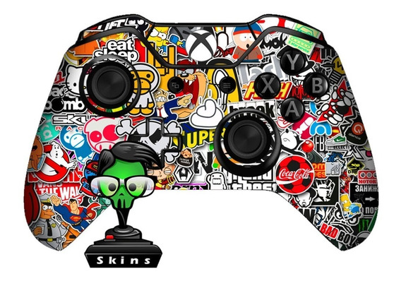 2 Skin Controle Xbox One Stikerbomb