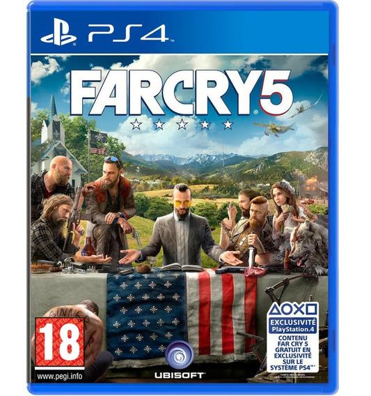 Game Far Cry 5 Ps4 Disco Fisico Novo Português Promoção