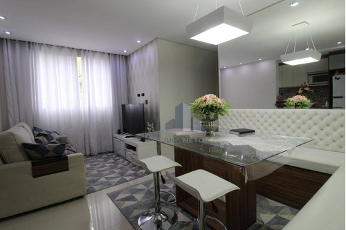 Imagem 1 de 11 de Apartamento Com 2 Dormitórios À Venda, 48 M² Por R$ 275.000,00 - Parque São Vicente - Mauá/sp - Ap1198