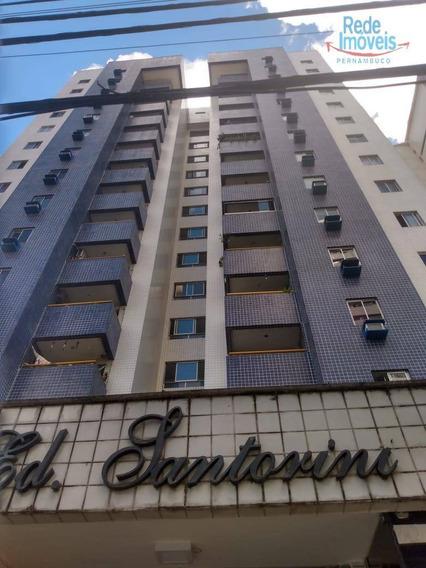 Apartamento Com 2 Dormitórios Para Alugar, 66 M² Por R$ 1.300,00/mês - Aflitos - Recife/pe - Ap10134