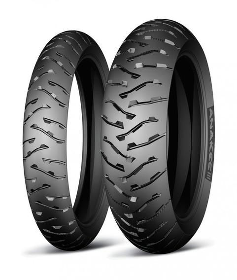 Pneu 110/80-19 & 140/80-17 * Michelin Anakee 3