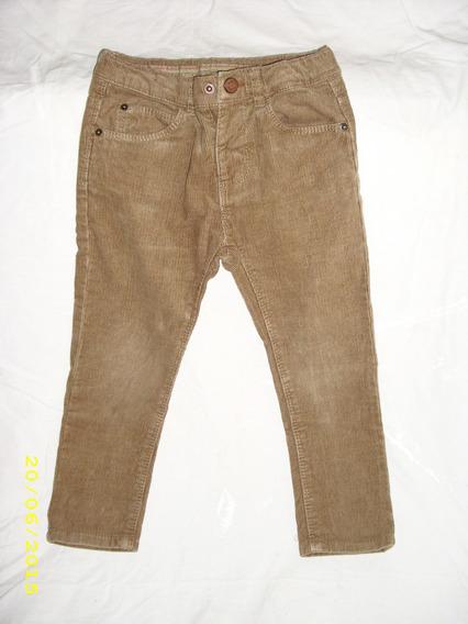 Y Pantalon Color Marron Clarito Pantalones Zara
