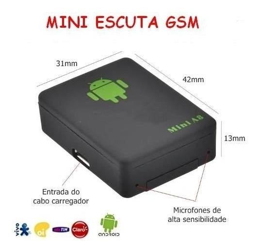 Manual - Micro Escuta A8 Gsm, Localizador Gps, Botão Sos