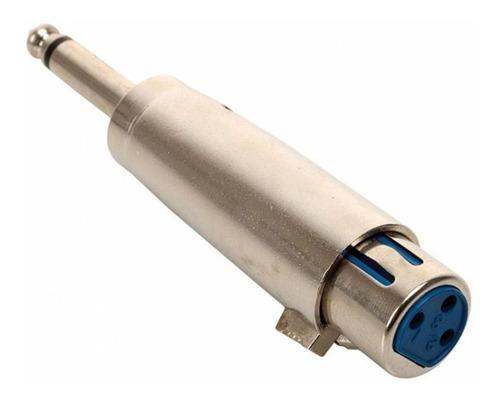 Adaptador Canon Hembra Plug 6.5 Mono