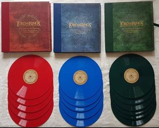 The Lord Of The Rings En Vinilo - Edición De Colección