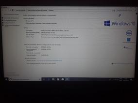 Notebook Dell I3, Hd 500 Gb, 4 Gb Memória Ram,