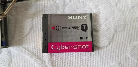 Dsc-t9 Sony Camera Completacom Bateria Carregador Capa Cabos