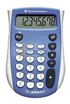 Imagen 1 de 1 de Tejas Ti-503sv De 8 Dígitos Calculadora De Mano Básico.