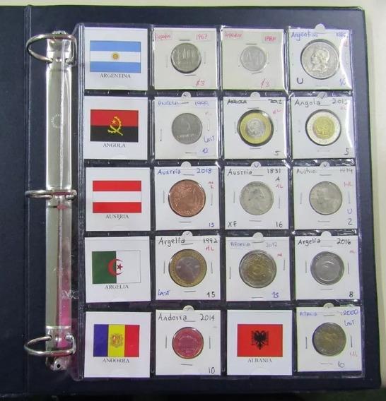 820 Banderas Del Mundo Para Organizar Monedas 5x5 Oferta
