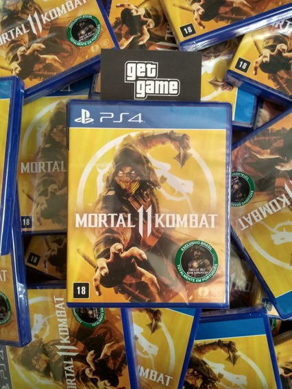 Mortal Kombat 11 Ps4 Midia Física Nacional
