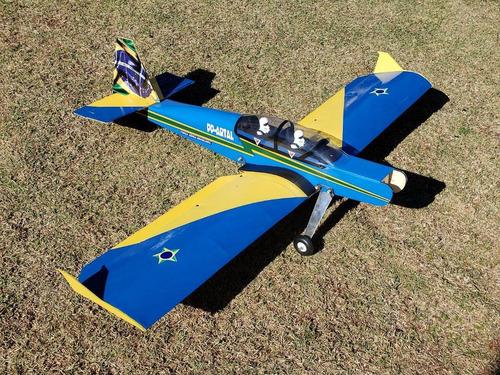Imagem 1 de 5 de Aeromodelo Pastinha Tucano Artal Novo Modelo Asa Baioneta