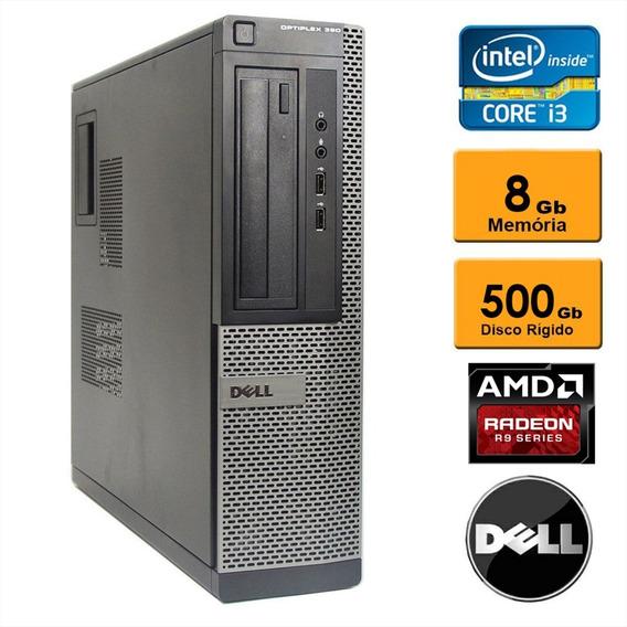 Dell Optiplex 390ssf Corei3 8gb Win10 Original Radeon R5 1gb