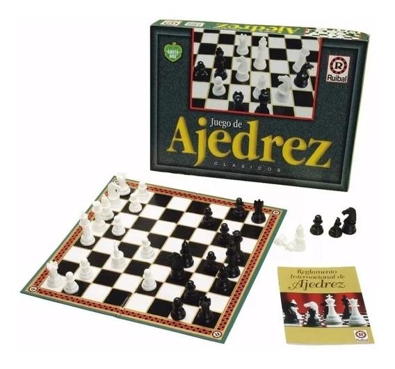 Juego De Mesa Ajedrez Clasico Linea Green Box Ruibal Full