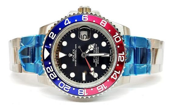 Reloj Rolex Gmt Master Pepsi Co Acero Automatico