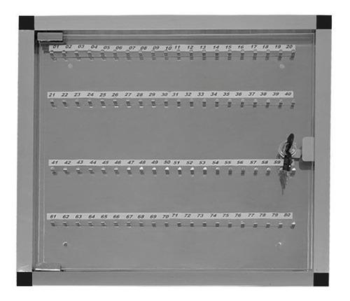 Quadro De Chaves Em Alumínio Para 80 Chaves Ligação