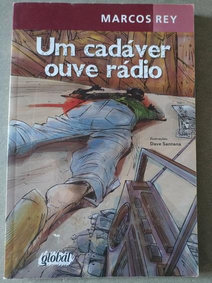 Livro Um Cadáver Ouve Rádio Marcos Rey Usado Frete R$15