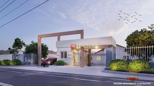 Casa Com 2 Dormitórios À Venda, 44 M² Por R$ 157.900,00 - Morada Do Vale I - Gravataí/rs - Ca1276