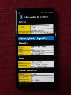 Smartphone Lg V30 4gb 128gb