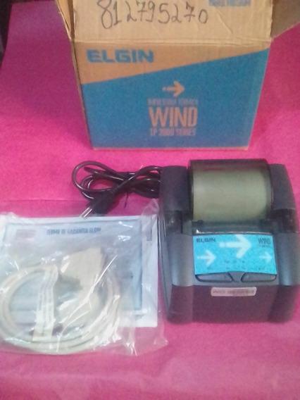 Impressora Térmica N/fiscal Elgin, Wind Tp3000 Séries, Nova