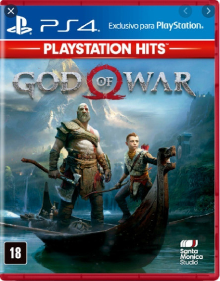 God Of War 4 Ps4 Mídia Física Novo Lacrado Pronta Entrega