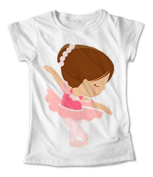 Blusa Ballet Baile Colores Playera Niña Bailarina #171