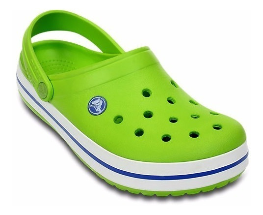 Crocs Crocband Originales Verde Varsity Blue C11016vv