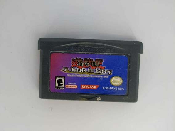 ( Seminovo ) Yu-gi-oh! 7 Trials To Glory - Game Boy Advance