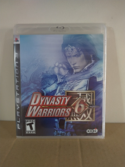 Ps3 Dynasty Warriors 6 - Novo