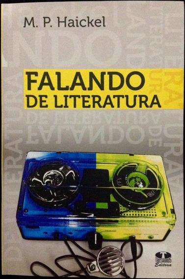 Livro Falando De Literatura