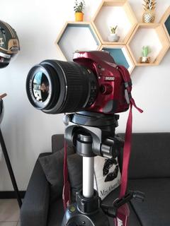 Camara Digital Nikon D5200 (precio Ganga)