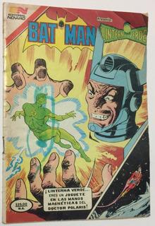 Retromex V Batman Linterna Verde No.1236 Novaro 1984