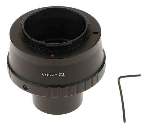 Anel T2 Para Olimpo Panasonic Micro 4/3 Câmera + 1.25inch T