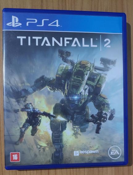 Titanfall 2 - Ps4 - Mídia Física Em Ótimo Estado !!