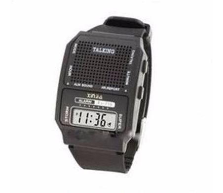 Kit 10 Unid Relógio Fala Hora Ideal P/ Idoso E Def Visual