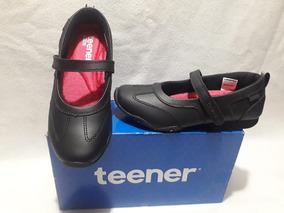 Zapato Escolar Niña $ 17.990 N° 34 Al 40 Marca Teener