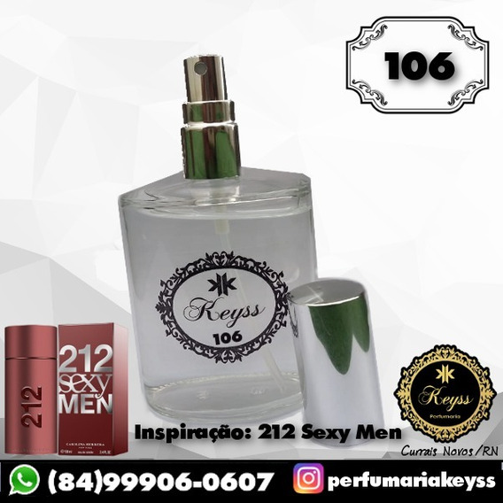 Perfume Keyss Nº 106 [212 Sexy Men] 100ml Masculino