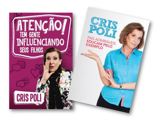 Kit Com 2 Livros Da Cris Poli - Supernanny