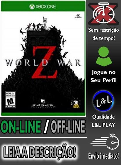 World War Z Xbox One Digital On/off S/restrição + Brinde