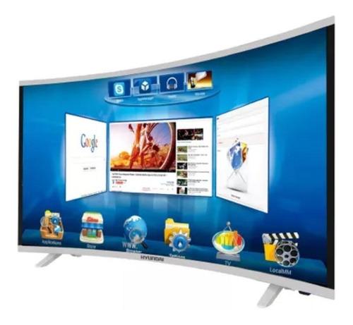 Televisor Hyundai 49 Curvo,smart Tv,wifi,memoria Int 8gb