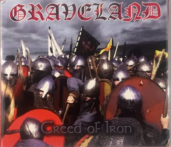Graveland - Creed Of Iron - Digipack Imp Germany Lacrado