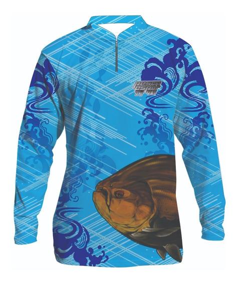 Camisa De Pesca Esportiva Personalizada #1