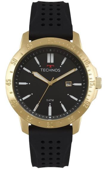 Relogio Technos Masculino Original Luxo Moderno 2115mqw/8p