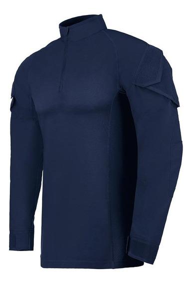 Camisa Invictus Operator Azul Aviator