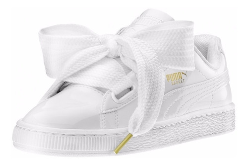 Mujer Zapatillas Basket 990 Puma Heart Sneakerbox54 Blanca rtdhQsCBx